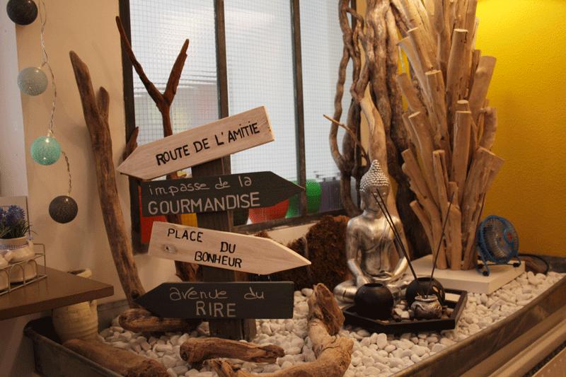 Photo d'un espace zen au sein de Basilic Instant